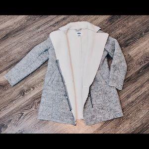 Grey soft brushed jacket